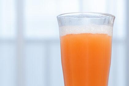 グレープフルーツジュースの炭酸割り